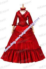 Vintage Renaissance Gothic Lolita Southern Belle Fancy Dress Long Sleeves