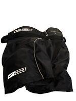 Youth Bauer Supreme 10 Hockey Shorts Size S/P Black White