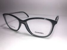 CHANEL Eyeglass Frames 1506-T c. 501 Women's Men's Glasses Black & Titanium $599