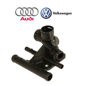 For Audi A3 TT VW Eos Golf R Passat Jetta Engine Coolant Hose Flange Genuine