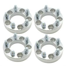 """(4) Wheel Spacer Adapters 5x100 to 5x100   1"""" (25mm)   12x1.5 Studs"""