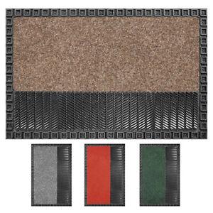 OLIVO.shop - ELVIS Zerbino per esterno in gomma resistente alla pioggia 50x80 cm