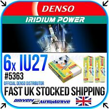 6 x DENSO IRIDIUM PLUGS *SALE* IU27 FOR KAWASAKI,ZR750 L7F, L8F, M7F, M8F (Z750)