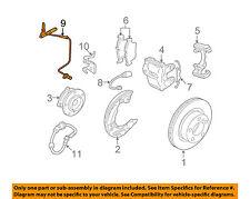 BMW OEM 07-13 328i ABS Anti-lock Brakes-Front Speed Sensor 34526870075