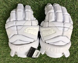 Adidas Freak Flex G Lacrosse Lax Climacool Gloves White CF9665 Size 12 NEW $130