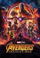 AVENGERS INFINITY WAR POSTER (61x91cm) ONE SHEET MOVIE KEY COVER ART