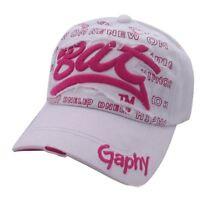 Hip hop BASEBALL CAP HAT SNAP BACK Size Adjustable Unisex Mens Women UK
