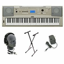 Yamaha YPG-235 76-Keys Portable Grand Keyboard Piano W/ Stand+Adapter+Headphone