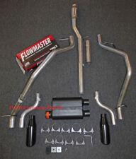 14-18 Chevrolet Silverado GMC Sierra Dual Exhaust Kit w/ Flowmaster Super 44