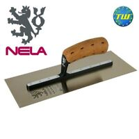 "NELA Trowels 16"" x 4.75"" Premium Plastering Trowel with BiKo Cork Grip Handle 10"