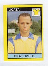 figurina IL GRANDE CALCIO VALLARDI 1988/89 NUMERO 453 LICATA GNOFFO