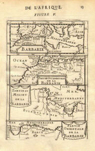 NORTH AFRICA. Barbary. Morocco Tunisia Libya Egypt. 'Barbarie'. MALLET 1683 map
