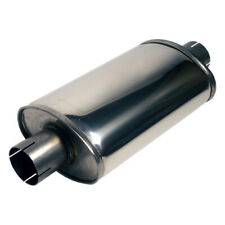Jetex 3 Inch Exhaust Silencer Box Aluminised Steel- Round Case/630mm Case Length