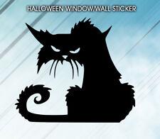 Grumpy Cat Car Bumper Bonnet Vinyl Stickers Window Decorations Spooky Party Kids