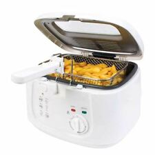 New Electric 2.5L Deep Fat Chip 1800w Fryer Non Stick Pan Safe Basket Handles