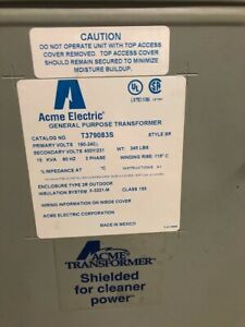 ACME ELECTRIC GENERAL PURPOSE TRANSFORMER