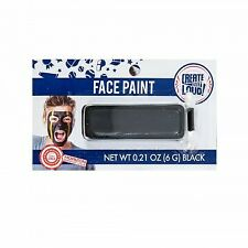 Create Out Loud Face Paint Team School Football Cheerleader Spirit Black .21 oz