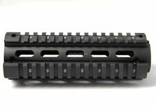 223 Quad Rail Handguard 6.7 inch Carbine Length 2 Piece Drop-In Picatinny