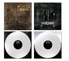 Mortuary Drape / Necromass - Split ++ LP, WHITE VINYL, lim.111 ++ NEU !!