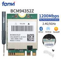 Broadcom BCM94352Z WiFi Card 802.11ac DW1560 2.4G/5G NGFF 1200Mbps BlueTooth 4.0
