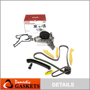 Timing Chain Kit Water Pump Fit 05-15 Mercedes-Benz C350 CLK350 C230 C280 C300
