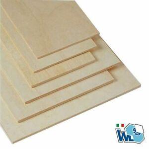 Pannello di legno di pioppo compensato 60x30 cm
