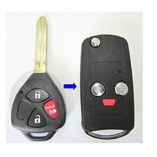 Flip Folding Remote Key REPL Shell Keyless Fob Case fit for 2010-2014 Scion