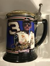 "#3 DALE EARNHARDT ""THE INTIMIDATOR"" FRANKLIN MINT TANKARD W/ PAPERS & BOX (NEW)2"