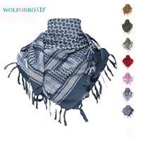 Cotton Arab Shemagh Keffiyeh Scarf Military Keffiyeh Unisex Head Wrap Hijab Soft