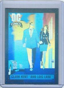1991 DC Cosmic Cards Hologram #DCH1 Clark Kent & Lois Lane