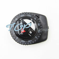 5PCS Mini Clear Liquid-filled Compass w/ Clip Outdoor Molle Backpack Pouches