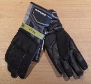 BMW GS Dry Gloves Blue/Grey 9-9.5