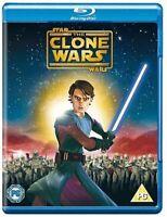 STAR WARS: The Clone Wars Movie [Blu-ray] 2008 Animated Film Lucasfilm Jedi