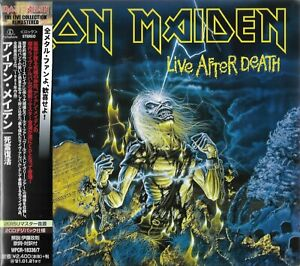 IRON MAIDEN LIVE AFTER DEATH 2020 JAPAN REMASTERED 2CD SET GIFT QUALITY PRODUCT!
