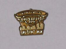 2011 Kentucky Derby Festival Instant Winner Gold Pin