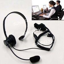 For Motorola Over Head Headset Earpiece Mic  HT1000 HT2000 JT1000 PR1500 MT1500