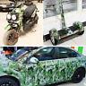 Camouflage Folie Luftkanäle Car Wrapping Auto Folie selbstklebend Warp 152x 20cm