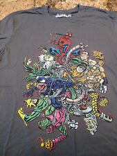 NEW Marvel Spiderman Superhero Threadless Graphic T-Shirt- Size M- RARE