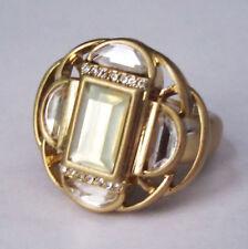 Lia Sophia Jewelry Compass Ring size 5 6 7 8 9 10 11  in Gold RV$98