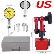 Flexible Magnetic Base Holder Standdial Test Indicator Gauge Scale 008mm Usa