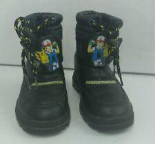 1999 Children Kid Boots Shoes Pocket Monster Pikachu Korea RARE Size 195 Pokemon