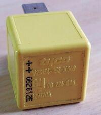 Saab Vauxhall GM Ignition Starter Glow Plug 4-Pin Yellow Relay 90226846 1238612