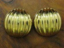 8kt 333 Oro Amarillo Clips de Oreja / Pendientes / 4,3g