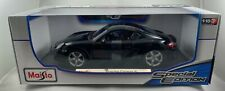 Maisto Porsche Cayman S, 1:18 Diecast Car (Black), Special Edition