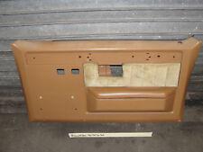 OEM 1988 88 Chevy K5 BLAZER RIGHT PASSENGER SIDE FRONT DOOR PANEL COGNAC