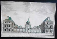 Sicht optische 18. Jahrhundert - Palast von der Luxemburg - Senat - Paris