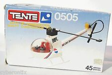 Tente NEWS REPORT HELICOPTER Set 0505 Spain 45 Pcs Exin Reportajes Helicoptero