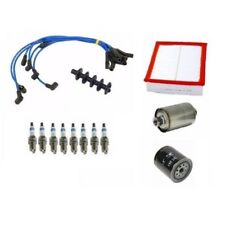 Land Rover Discovery 99 - 01 Oil Air Fuel Filters Spark Plugs Wires Tune Up Kit