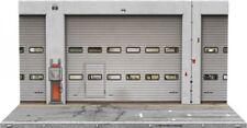 SD Diorama Boxengasse Werkstatt Halle Fotohintergrund 1:18 Bausatz