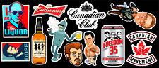 Liquor Vinyl Sticker Pack #1